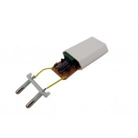 برد تغذیه سوئیچینگ 5v-500mA با خروجی USB و دوشاخه برق ورودی