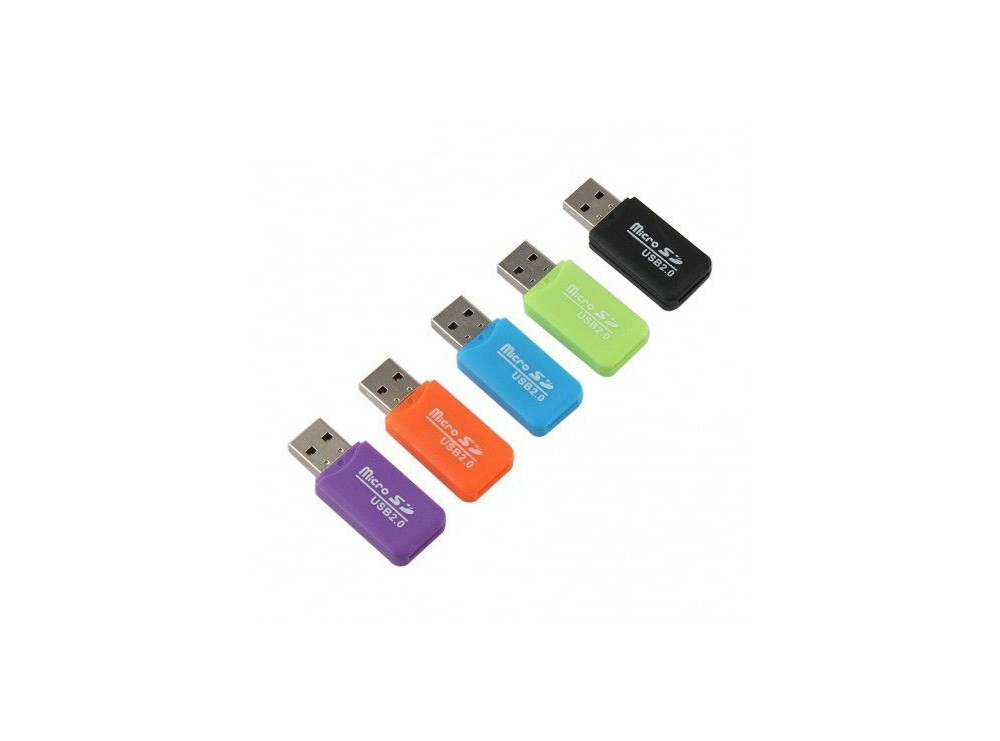مموری ریدر تک کاره Micro SD USB 2.0 مدل A