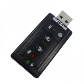 کارت صدای اکسترنال ولوم دار USB