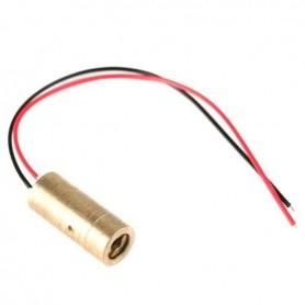 لیزر قرمز 9mm 5mW بالنز ثابت