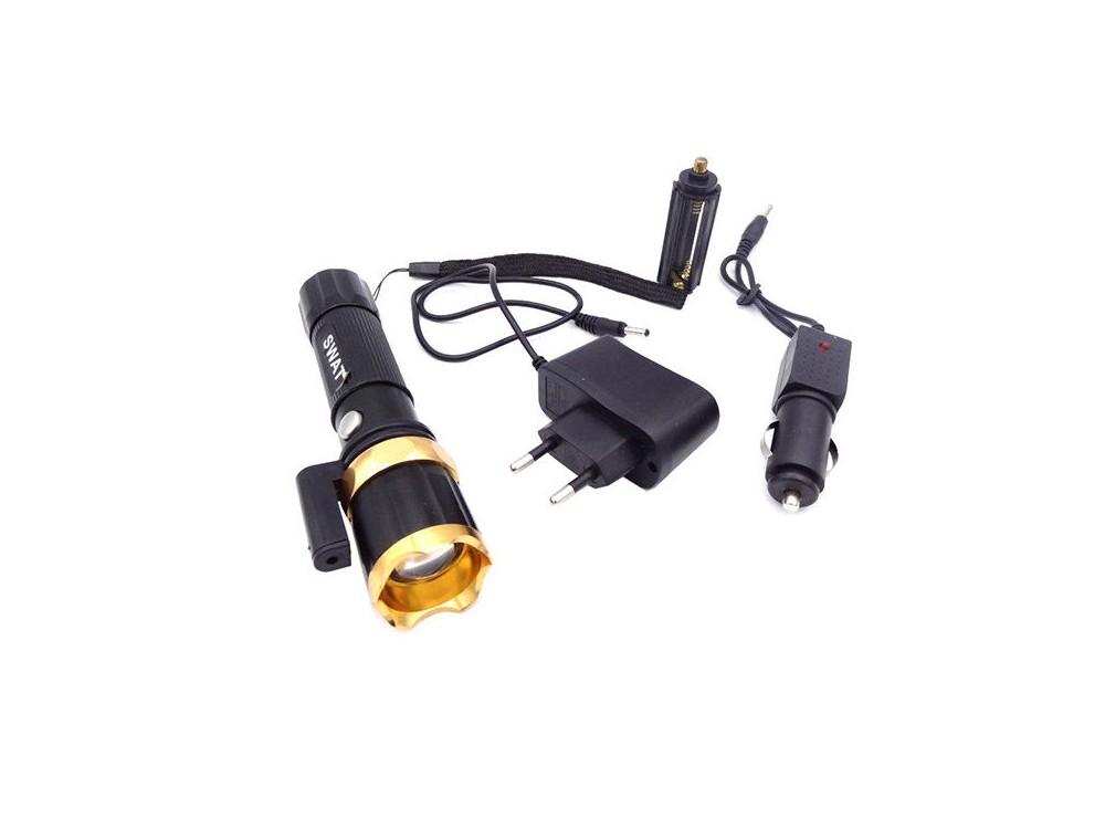 چراغ قوه اسوات SWAT پلیسی مدل لیزردار