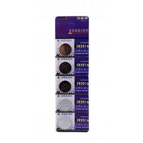 باتری سکه ای 3 ولت CR2016 ورق 5 تایی مارک Sunking