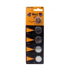 باتری سکه ای 3 ولت CR2025 ورق 5 تایی مارک Best