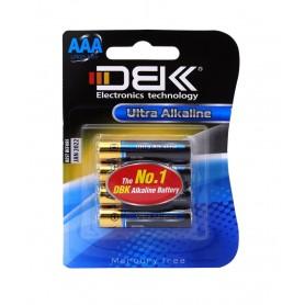 باتری نیم قلمی آلکالاین Ultra چهار تایی مارک DBK