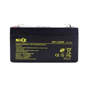 باتری خشک 6 ولت 1.3 آمپر ساعت مارک Nice
