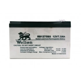 باتری خشک 12 ولت 7.5 آمپر ساعت مارک Welion
