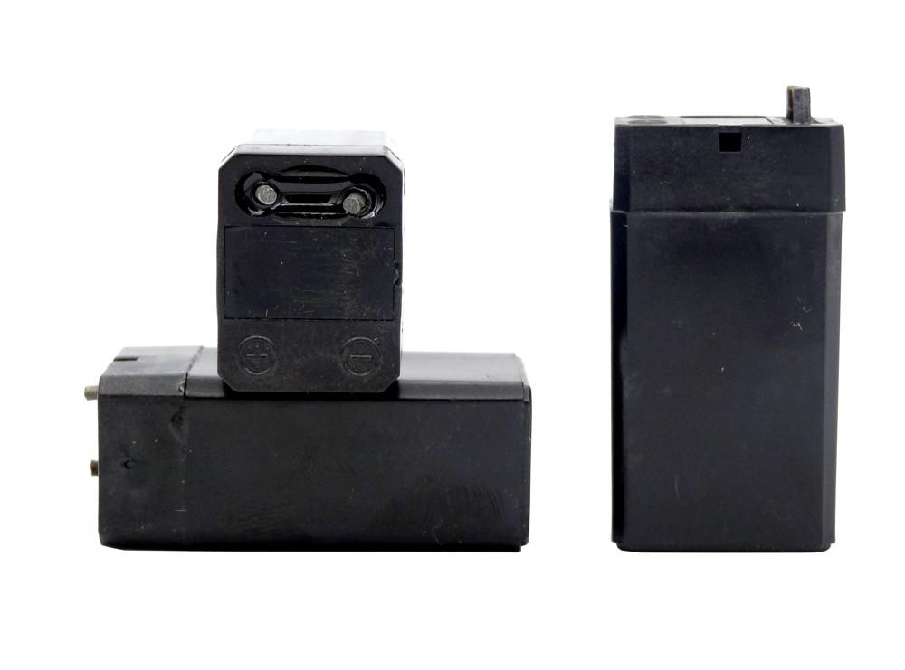 باتری خشک شارژی 4 ولت 400 میلی آمپر ساعت بلند