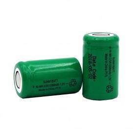 باتری سایز 2/3A شارژی 1.2 ولت 1200mAh مارک SunnyBatt