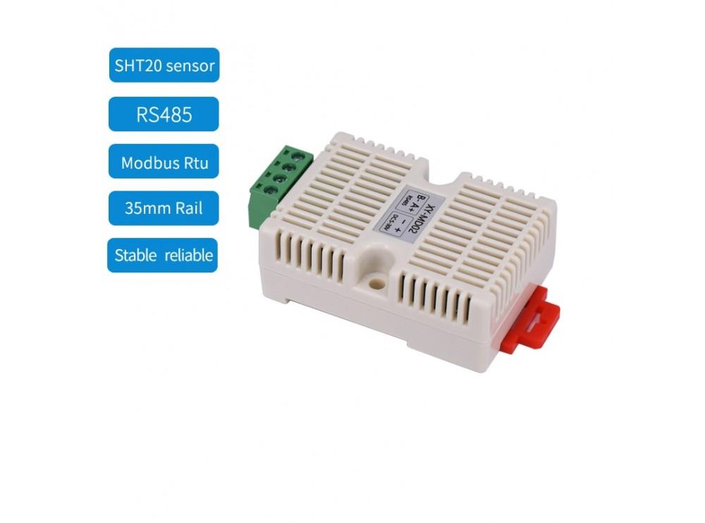 ماژول SHT20 با ارتباط سریال RS485 و پروتکل Mod Bus