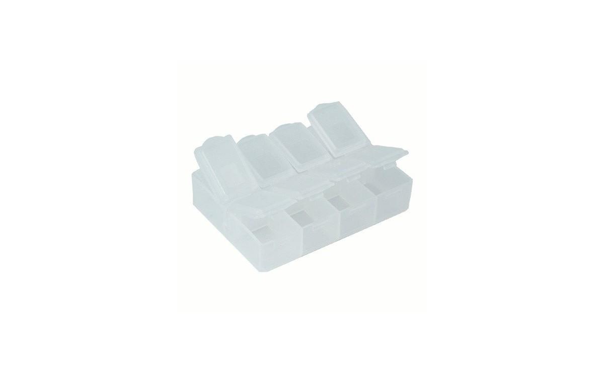 جعبه قطعات Proskit مدل 8 خانه