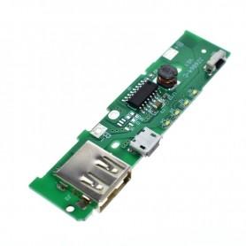 ماژول ساخت پاوربانک دارای خروجی 5V 1A USB مناسب برای کیس های XiaoMi