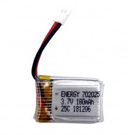 باتری لیتیوم پلیمر 3.7v ظرفیت 180mAh تک سل 25C مارک Energy