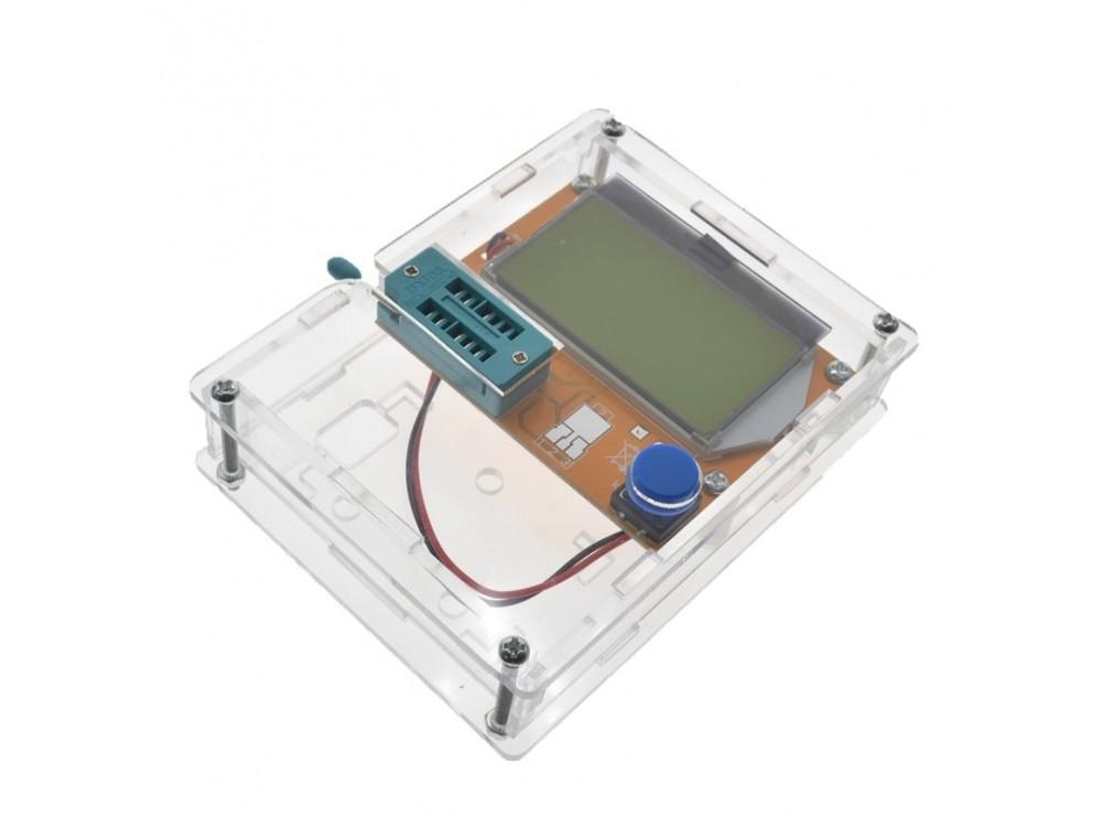 کیس شیشه ای تستر قطعات الکترونیکی LCR-T4