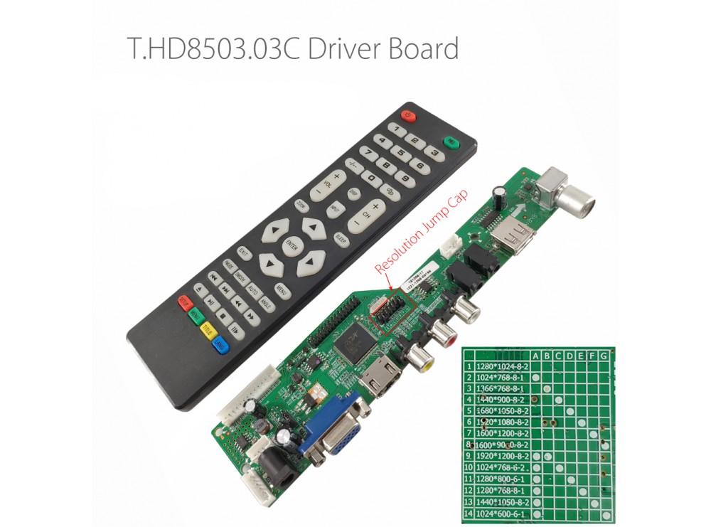 مین برد همه کاره LCD تلوزیون مدل HDVX9-AS