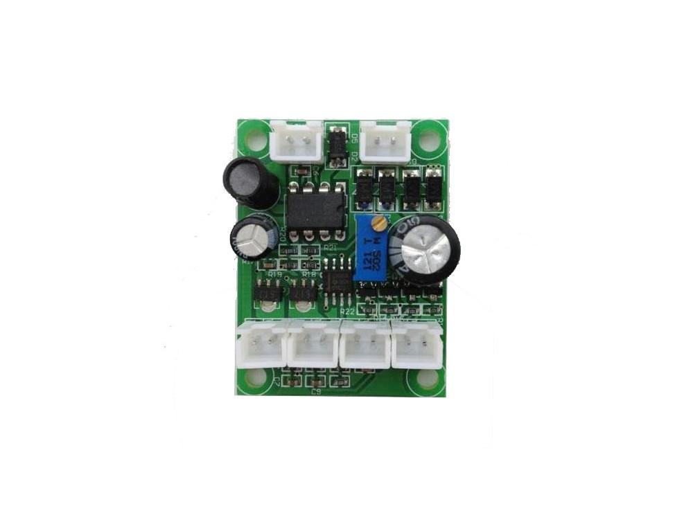 درایور لیزر دو رنگ قرمز و سبز 12 ولت AC / DC و TTL Support
