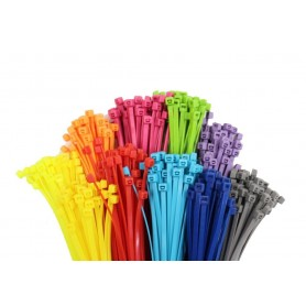 بست کمری 30 سانتی متری رنگی بسته 100 تایی