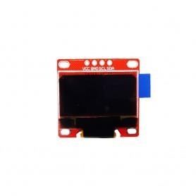 ماژول OLED 0.96 inch I2C دو رنگ زرد-آبی رزولیشن 128x64