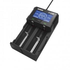 شارژر باتری نیکل و لیتیوم-یون دوتایی ET1 مارک Xtar