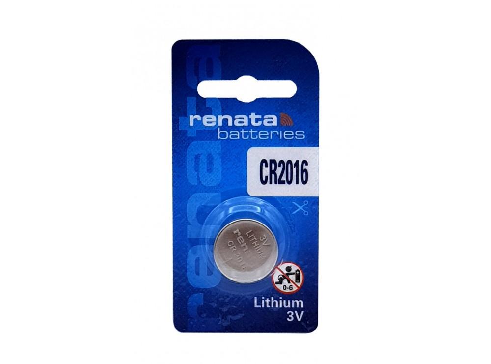 باتری سکه ای 3 ولت CR2016 مارک Renata