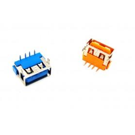 كانكتور USB-A مادگی کوتاه 10mm رنگ آبی