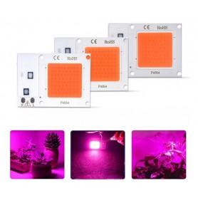 LED COB مخصوص رشد گیاه 10W 220V با درایور داخلی