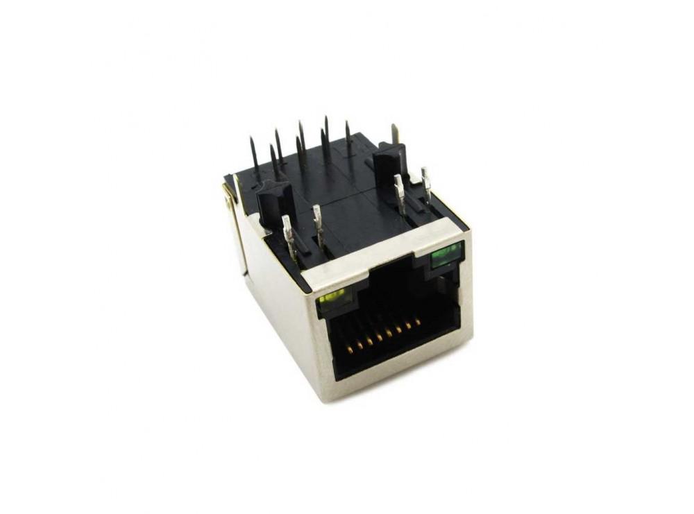 کانکتور شبکه فیلتر دار HR911105A-RJ45