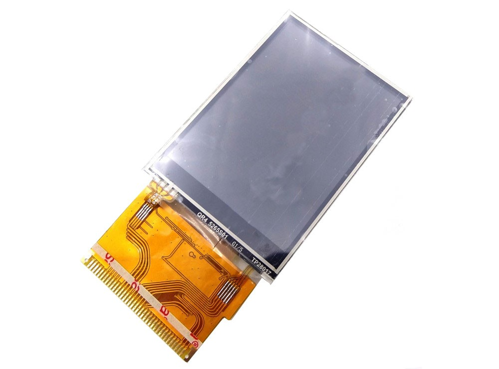 "LCD رنگی ""2.8 TFT به همراه تاچ (معروف به LCD N96 )"