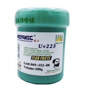 خمیر فلاکس لیوانی 100 گرمی Mechanic کد UV-223