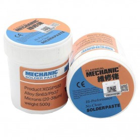 خمیر قلع لیوانی MECHANIC 500gr کد XGSP500