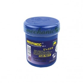 خمیر فلاکس لیوانی MECHANIC 100gr مدل UV-559