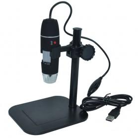 میکروسکوپ دیجیتال 500X USB Digital Microscope پایه ثابت مارک HLOT