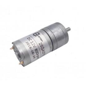 موتور گیربکس 12V-800RPM ZGA25