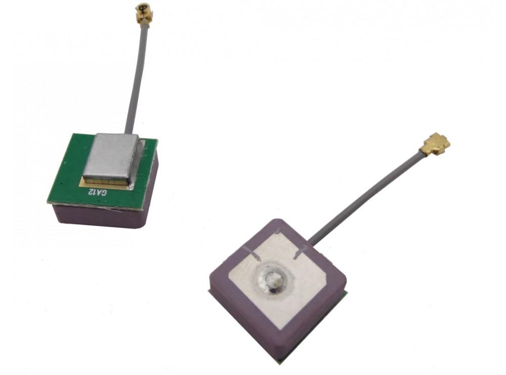 آنتن GPS داخلی اکتیو سایز 12x12x4.5mm مدل GA12
