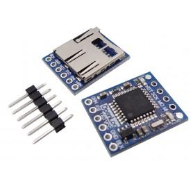 ماژول دیتا لاگر ( OpenLog ) دارای ارتباط سریال مناسب برای اتصال به فلایت کنترل Naze32