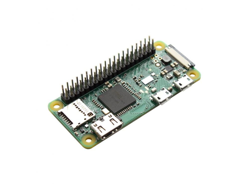 برد رزبری پای زیرو Raspberry Pi Zero مدل WH دارای بلوتوث و وایفای داخلی
