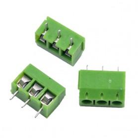 ترمینال پیچی مدل KF301-3Pin رنگ سبز
