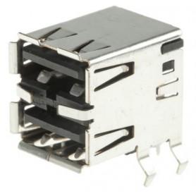 کانکتور USB - نوع A - دوبل