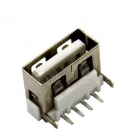 کانکتور USB-A مادگی کوتاه 10mm رنگ سفید