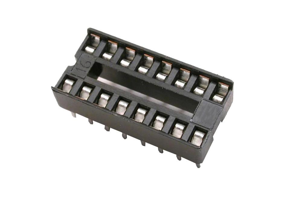 سوکت IC ساده 16 پایه