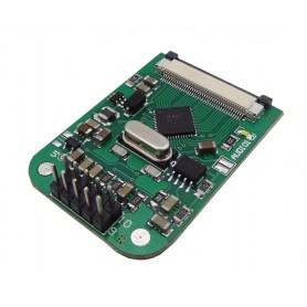 ماژول درایور TFTLCD دارای کنترلر تاچ مقاومتی FT800