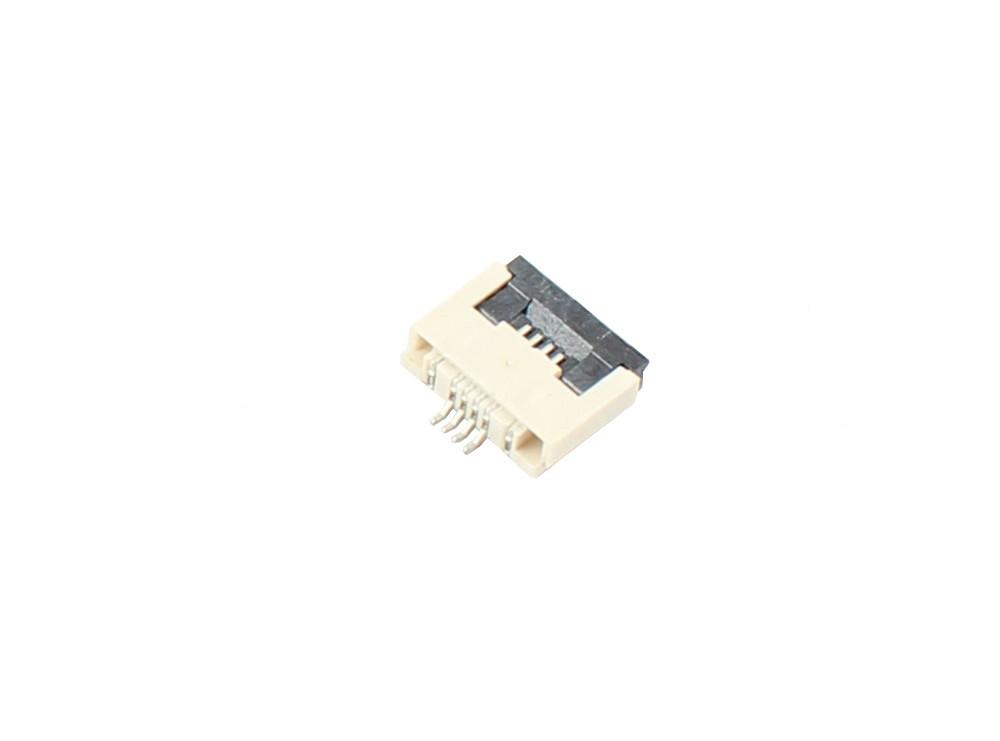 کانکتور FPC 0.5MM 4 Pin ZIF