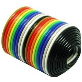 کابل فلت 20 رشته رنگی یک متری