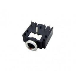 جک هدفن 3.5mm استریو کوتاه -مشکی 3F07