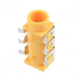 جک هدفن 3.5mm استریو زرد مدل PJ-313D