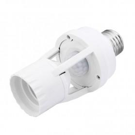 سرپیچ لامپ سنسوردار با حسگر حرکتی PIR و تایمر