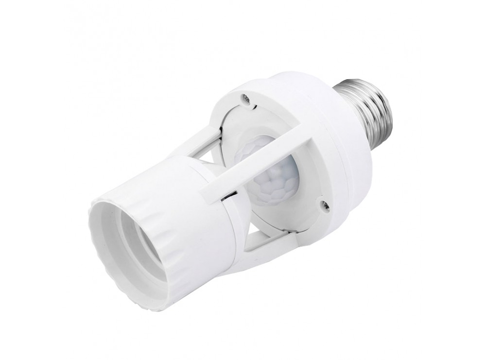سرپیچ لامپ سنسوردار با حسگر حرکتی PIR و تایمر مدل SP-SL01
