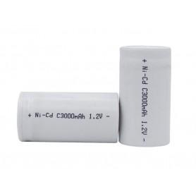 باتری شارژی نیکل-کادمیوم 1.2v متوسط سایز C ظرفیت 3000mAh