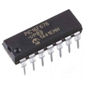 میکروکنترلر PIC16F676-I/P پکیج DIP