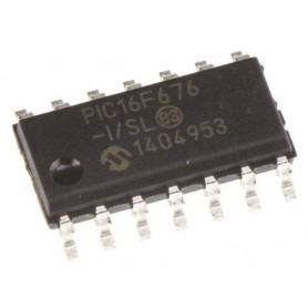 میکروکنترلر PIC16F676-I/SL پکیج SMD