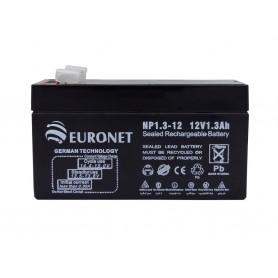 باتری خشک 12 ولت 1.3 آمپر ساعت مارک Euronet